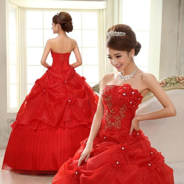 Red Pink Dresses