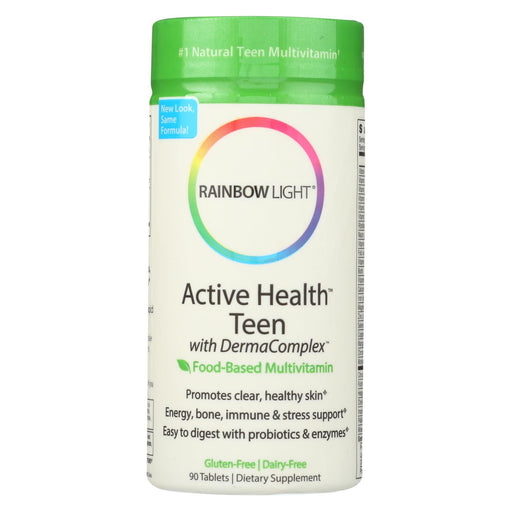 Rainbow Light Active Health Teen Multivitamin - 90 Tablets-Eco-Friendly Home & Grocery-Rainbow Light-EpicWorldStore.com