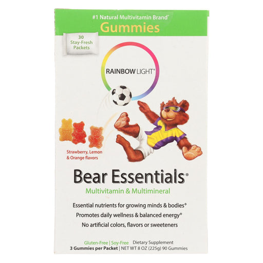 Rainbow Light Gummy Bear Essentials Multivitamin Multimineral Fruit - 30 Packets-Eco-Friendly Home & Grocery-Rainbow Light-EpicWorldStore.com