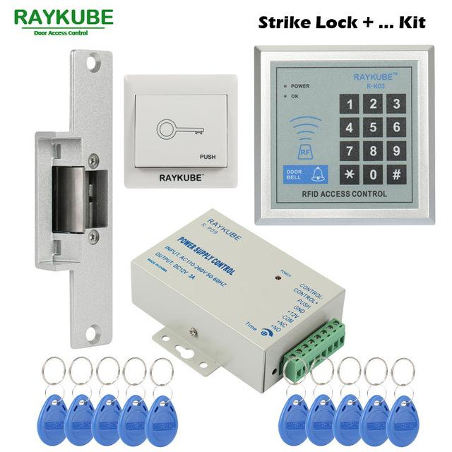 raykube special offer access control kit electric strike lock