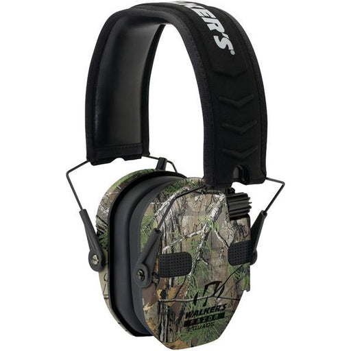 Razor(R) Series Slim Realtree(R) Xtra Electronic Quad Muff-Outdoor Recreation & Fitness-WALKER'S GAME EAR(R)-EpicWorldStore.com