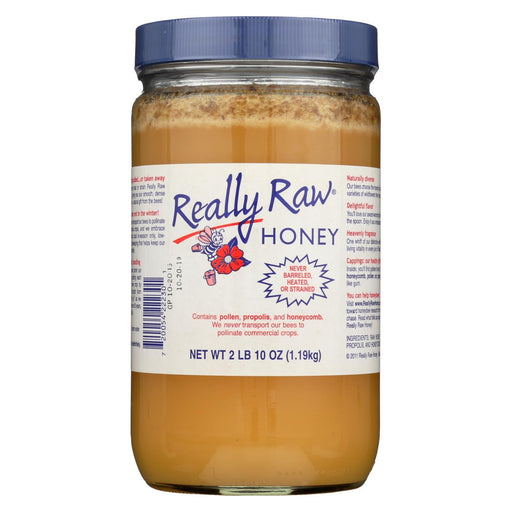 Really Raw Honey - Unheated, Unstrained - 1 Each - 42 Oz.-Eco-Friendly Home & Grocery-Really Raw Honey-EpicWorldStore.com