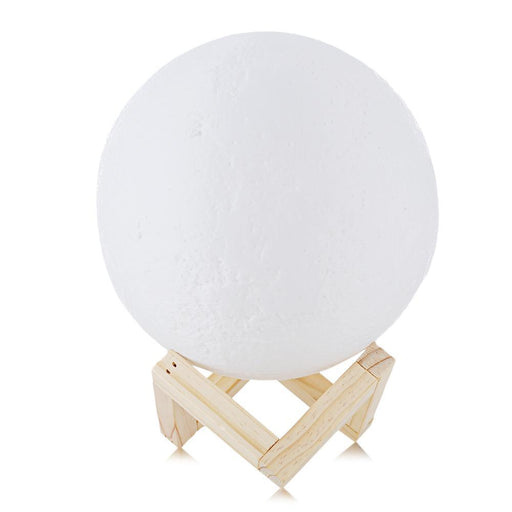 Rechargeable 3D Print Moon Lamp 2 Color Change Touch Switch Bedroom Bookcase Night Light Home-LED Lamps-Finether Official Store-7.8cm-EpicWorldStore.com