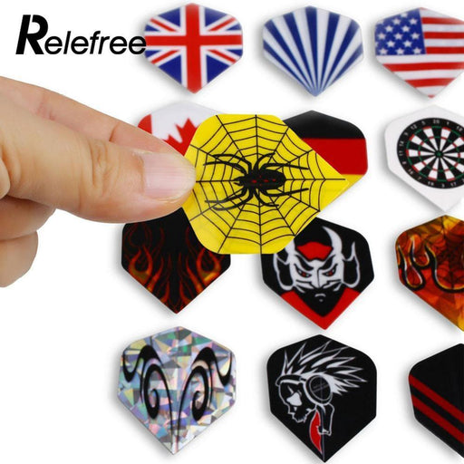 Relefree Outdoor Sports 90Pcs/30 Sets Of Dart Flights Design Assorted Tail Wing Board Games Darts-Entertainment-Teamtop Trading Store-EpicWorldStore.com