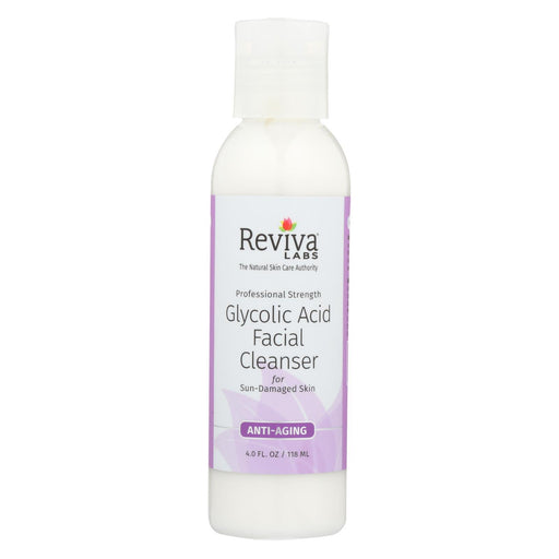 Reviva Labs - Glycolic Acid Facial Cleanser - 4 Fl Oz-Eco-Friendly Home & Grocery-Reviva Labs-EpicWorldStore.com