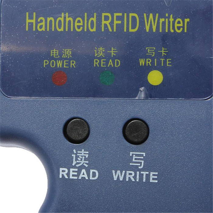 Rfid Handheld 125Khz Em4100 Id Card Copier Writer Duplicator With 6  Writable Tags + 6 Writable Cards
