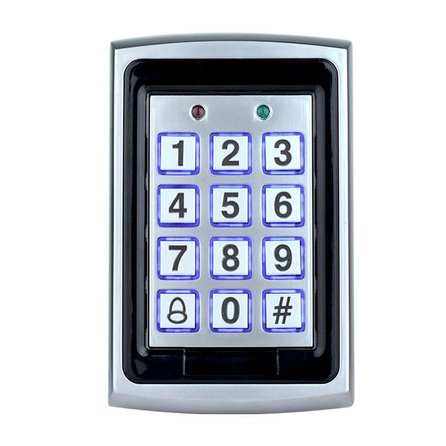 Rfid Metal Access Control Keypad With Waterproof Cover Contactless Door Controller Electric Security-OBO HANDS Official Store-keypad-EpicWorldStore.com