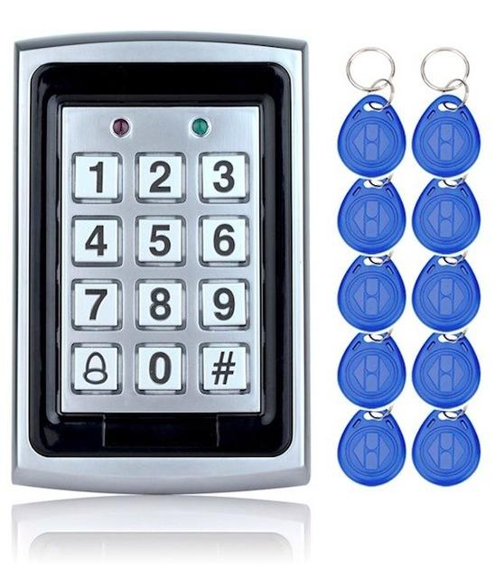 Rfid Metal Access Control Keypad With Waterproof Cover Contactless Door Controller Electric Security-OBO HANDS Official Store-keypad with 10 keys-EpicWorldStore.com