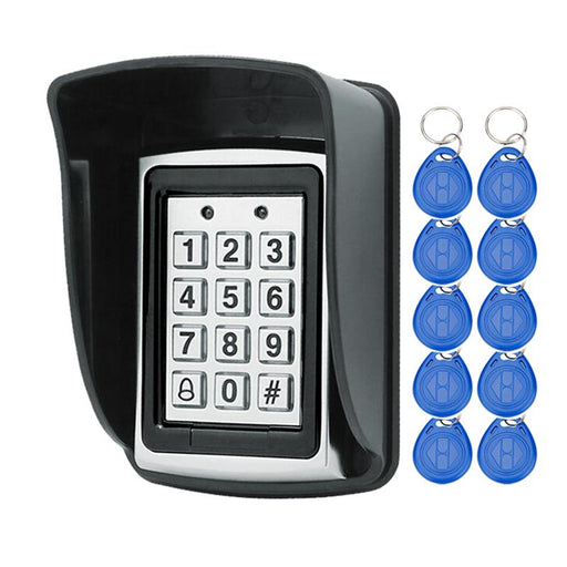 Rfid Metal Access Control Keypad With Waterproof Cover Contactless Door Controller Electric Security-OBO HANDS Official Store-keypad with 20 keys-EpicWorldStore.com