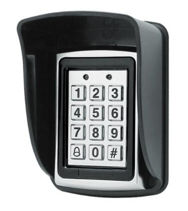 Rfid Metal Access Control Keypad With Waterproof Cover Contactless Door Controller Electric Security-OBO HANDS Official Store-keypad with cover-EpicWorldStore.com