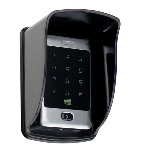 Rfid Standalone Touch Metal Access Control With 10 Keychains 125Khz Id Waterproof Cover For Door-OBO Security Store-FYG-EpicWorldStore.com