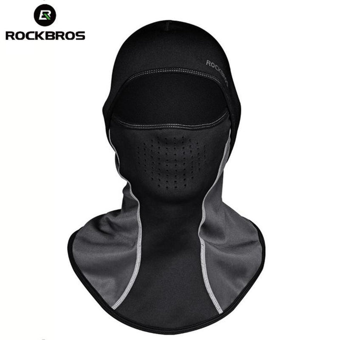 Rockbros Winter Skiing Thermal Headwear Neck Lycra Snow Scarfs Snowboarding  Headwear Ski Hat-Shooting- ff74502e898