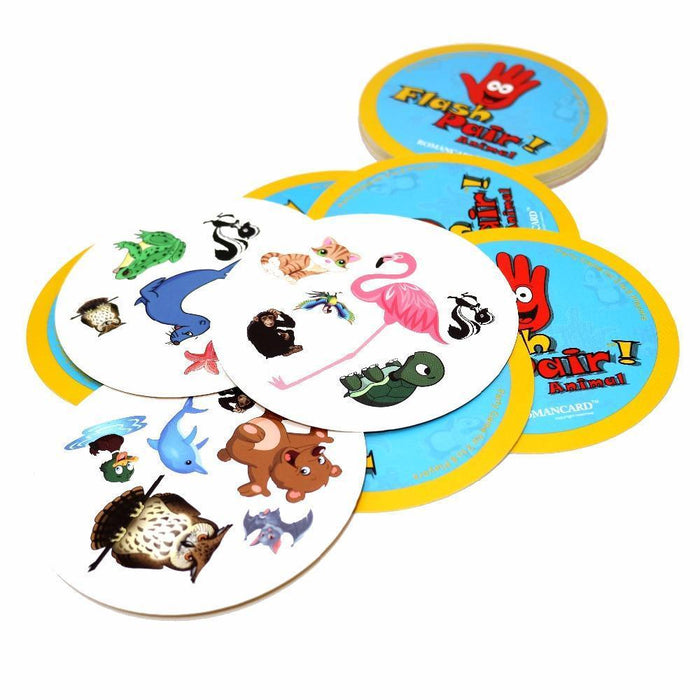 Romancard New Board Game Flash Pair Spot It Animals For Kids Children Family Play Gift For-Entertainment-Board Game Center-EpicWorldStore.com