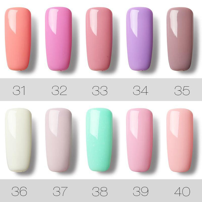 Rosalind 7Ml Gel Lacquer 58 Pure Colors Varnish Nail Art Vernis Uv Led Semi Permanent Soak-Off Gel-Nails & Tools-ALISTAR-01-EpicWorldStore.com