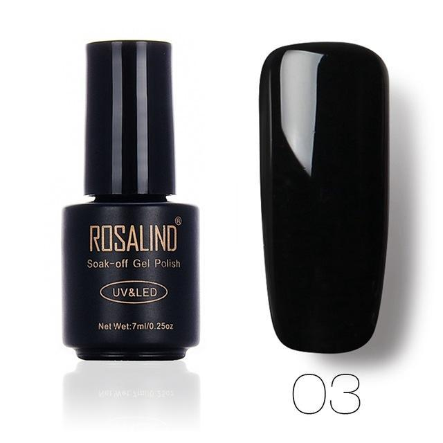 Rosalind 7Ml Gel Lacquer 58 Pure Colors Varnish Nail Art Vernis Uv Led Semi Permanent Soak-Off Gel-Nails & Tools-ALISTAR-03-EpicWorldStore.com