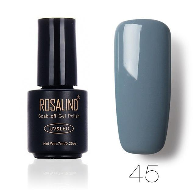 Rosalind 7Ml Gel Lacquer 58 Pure Colors Varnish Nail Art Vernis Uv Led Semi Permanent Soak-Off Gel-Nails & Tools-ALISTAR-45-EpicWorldStore.com