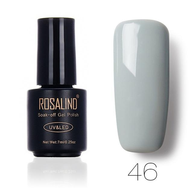 Rosalind 7Ml Gel Lacquer 58 Pure Colors Varnish Nail Art Vernis Uv Led Semi Permanent Soak-Off Gel-Nails & Tools-ALISTAR-46-EpicWorldStore.com