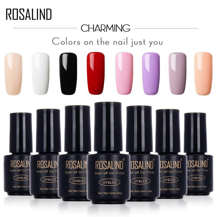 Rosalind 7Ml Gel Lacquer Motion Art Nail Gel Polish Uv Led Primer Semi Gel Varnish For Nails-Health Care-RSTYLE Nail Salon Store-01-EpicWorldStore.com