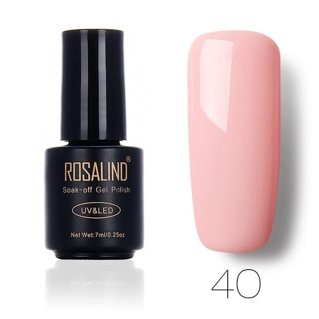 Rosalind 7Ml Pure Color Series Gel Nail Polish 31-58 Gel Varnishes Long-Lasting Design For Nails Gel-Health Care-RSTYLE Store-40-EpicWorldStore.com