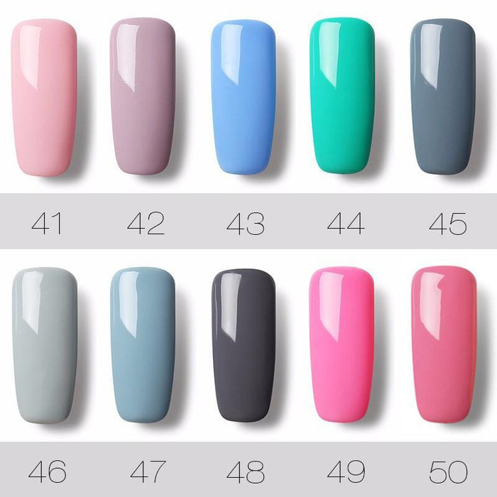 Rosalind 7Ml Pure Color Series Gel Nail Polish 31-58 Gel Varnishes Long-Lasting Design For Nails Gel-Health Care-RSTYLE Store-56-EpicWorldStore.com
