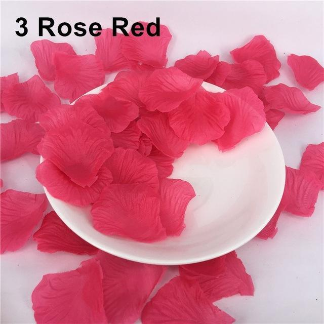 Rose Petals 500 Pcslots Wedding Party Decoration Artificial Flowers