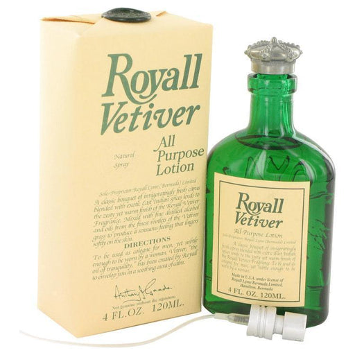 Royall Vetiver By Royall Fragrances All Purpose Lotion 4 Oz For Men-Beauty & Fragrance-Royall Fragrances-EpicWorldStore.com