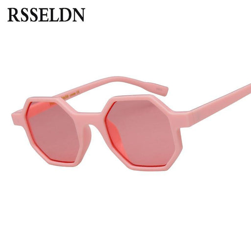 Rsseldn Small Octagon Sunglasses Women Brand Designer Vintage Polygon Black Brown Red Sun-Sunglasses-RSSELDN Official Store-01-EpicWorldStore.com