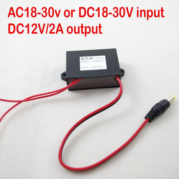 Free Shipping With Post Mail Power Module Ac24v Input And Dc12v Output For Rtu5015 Gsm Gate Door Opener Back To Search Resultssecurity & Protection Access Control