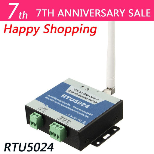 Rtu5024 Gsm Gate Opener Relay Switch Remote Access Control By Free Call Iphone And Android App-Agrox - Best Designed GSM controllers from China-EpicWorldStore.com