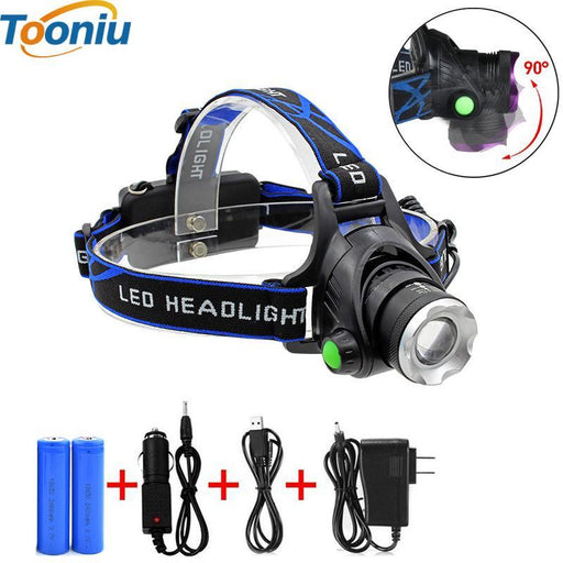 Ru 5000Lm Cree Xml-L2 Xm-L T6 Led Headlamp Zoomable Headlight Waterproof Head Torch Flashlight-LED Lighting-Tooniu Lighting Store-A-XML-T6-EpicWorldStore.com