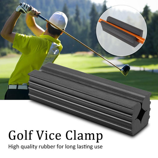 Rubber Golf Vice Clamp Professional Vice Jaws Club Repair Vice Clamp Golf Club Shafts Regrip Premium-Golf Training Aids-Enjoying Life ^_^ Store-EpicWorldStore.com