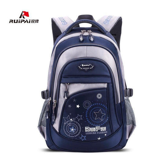 Ruipai Backpack Schoolbag Polyester School Bags For Teenage Girls And Boys High Quality-Kids & Baby's Bags-MOVING BAG-Black Small-EpicWorldStore.com