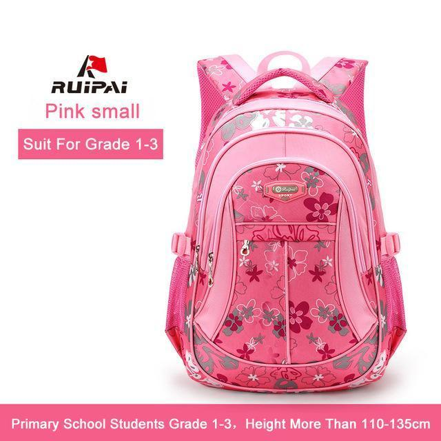 Ruipai School Bags Backpack Schoolbag Kids Lovely Backpacks For Children Teenage Girls-Kids & Baby's Bags-RUIPAI Official Store-Pink Small-EpicWorldStore.com