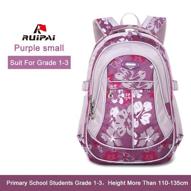 Ruipai School Bags Backpack Schoolbag Kids Lovely Backpacks For Children Teenage Girls-Kids & Baby's Bags-RUIPAI Official Store-Purple Small-EpicWorldStore.com