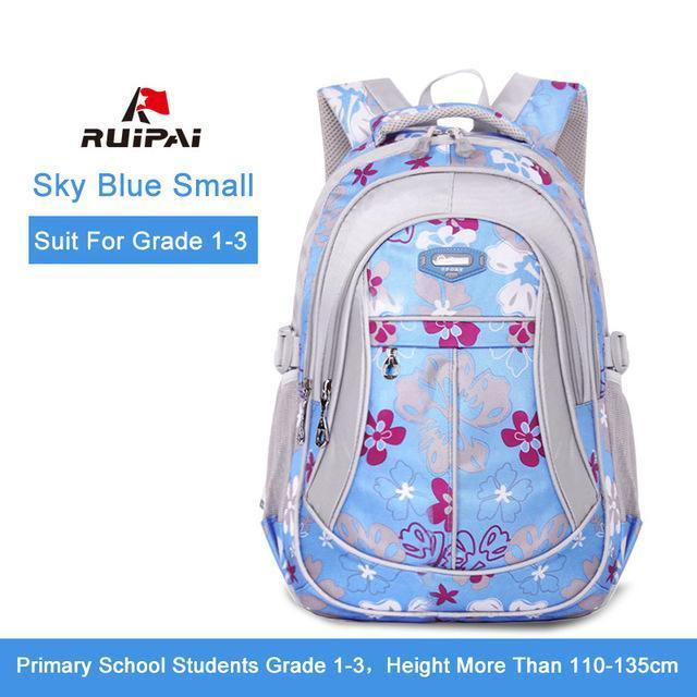 Ruipai School Bags Backpack Schoolbag Kids Lovely Backpacks For Children Teenage Girls-Kids & Baby's Bags-RUIPAI Official Store-Sky Blue Small-EpicWorldStore.com