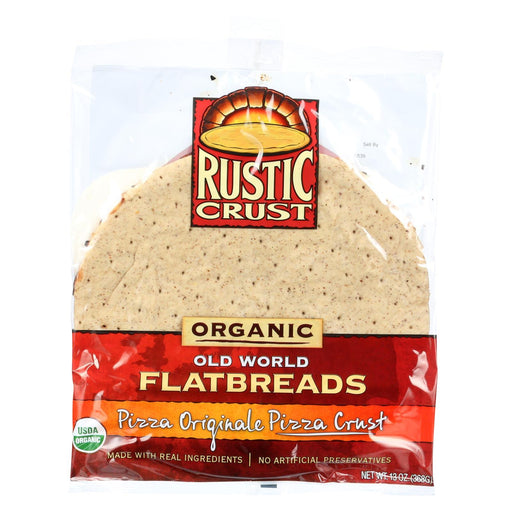 Rustic Crust Pizza Crust - Organic - Flatbreads - Pizza Originale - 13 Oz - Case Of 8-Eco-Friendly Home & Grocery-Rustic Crust-EpicWorldStore.com