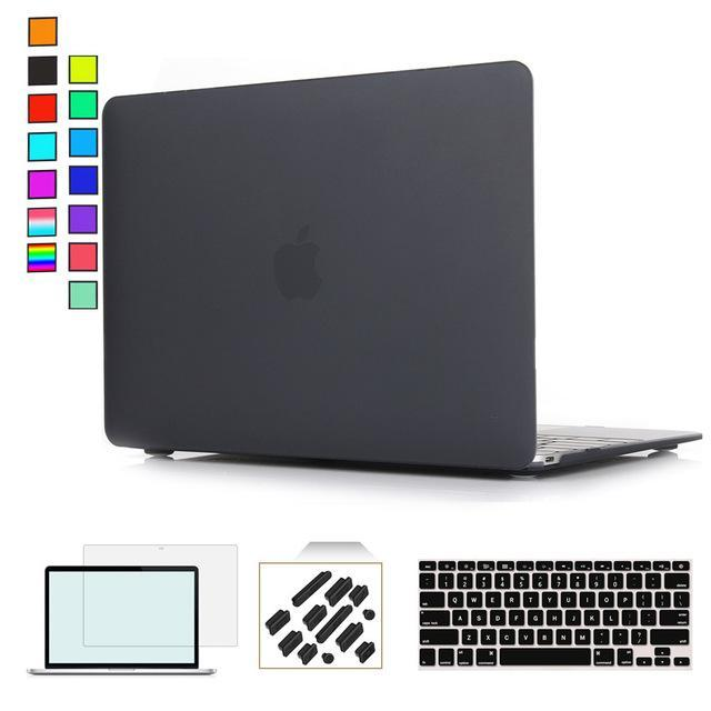 premium selection e0ccc d3d8f Rygou Clear Matte Hard Case For Apple Macbook Air Pro Retina 11 12 13 15  Laptop Cases For Mac Book