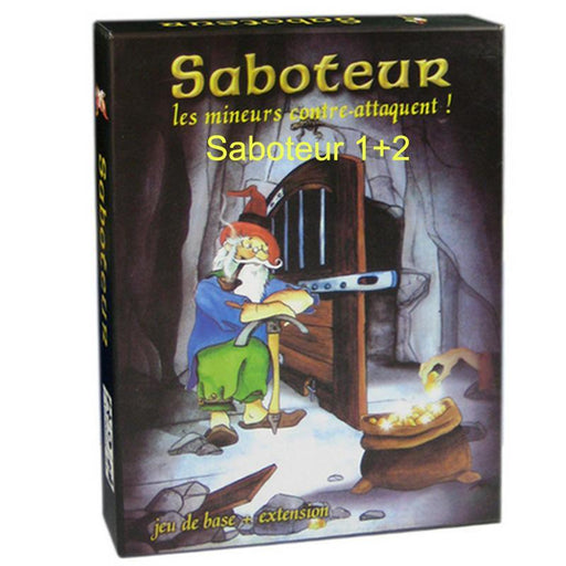 """Saboteur ""Board Game 1+2 Version/Saboteur1 Version Jeu De Base+Extension Board Game With English-Entertainment-Bingoes Hot Toy Factory-Saboteur 1X2version-EpicWorldStore.com"