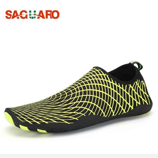 Saguaro Women Men Water Sport Shoes Light Sneakers Beach Diving Socks Unisex Swimming Upstream Shoes-Water Sports-MILLIONS OF SHARE-Black-9-EpicWorldStore.com