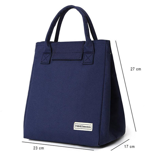 Samplaner Luxury Brand Lunch Bags For Women Kids Men Oxford Cooler Lunch Tote Bags Insulation-Functional Bags-Aosbos Official Store-dark blue-EpicWorldStore.com