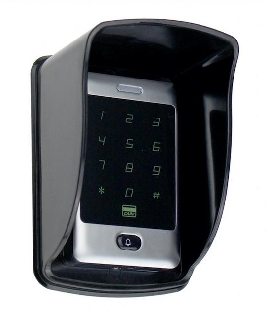 Sant Alone Rfid Access Control Touch Metal Keypad With Waterproof/Rainproof Cover 10 Keychains For-OBO HANDS Official Store-C30 With Cover-EpicWorldStore.com