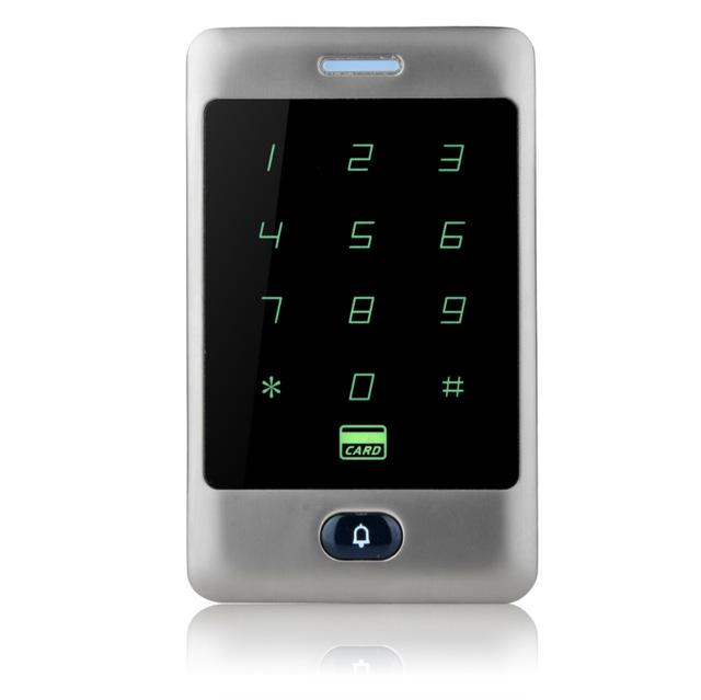 Sant Alone Rfid Access Control Touch Metal Keypad With Waterproof/Rainproof Cover 10 Keychains For-OBO HANDS Official Store-Keypad-EpicWorldStore.com