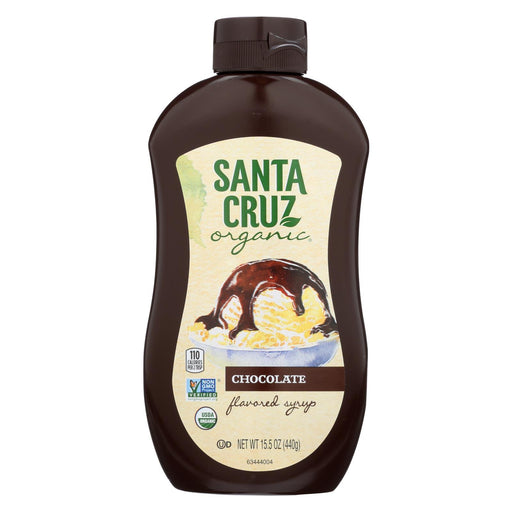 Santa Cruz Organic Syrup - Organic - Chocolate - Case Of 6 - 15.5 Fl Oz-Eco-Friendly Home & Grocery-Santa Cruz Organic-EpicWorldStore.com