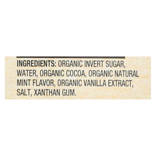 Santa Cruz Organic Syrup - Organic - Mint Chocolate - Case Of 6 - 15.5 Fl Oz-Eco-Friendly Home & Grocery-Santa Cruz Organic-EpicWorldStore.com