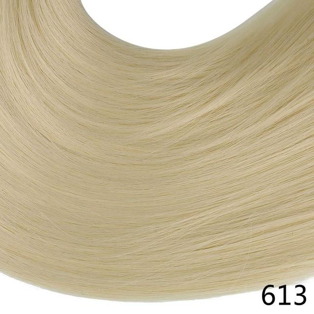 "Sarla Long Straight 24""& 28"" Synthetic Wrap Around Ponytail Hair Extensions High Temperature Fiber-SARLA Official Store-Beach Blonde-24inches-EpicWorldStore.com"