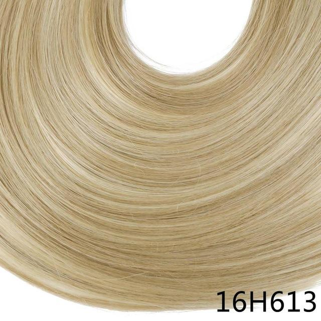 "Sarla Long Straight 24""& 28"" Synthetic Wrap Around Ponytail Hair Extensions High Temperature Fiber-SARLA Official Store-Dirty Blonde-24inches-EpicWorldStore.com"