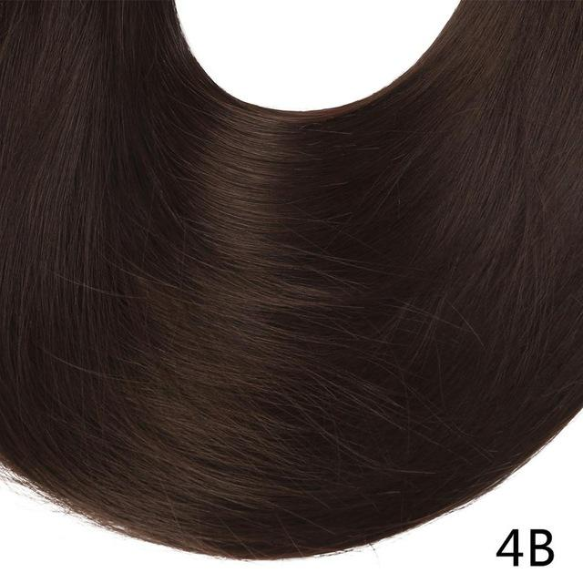 "Sarla Long Straight 24""& 28"" Synthetic Wrap Around Ponytail Hair Extensions High Temperature Fiber-SARLA Official Store-Medium Brown-24inches-EpicWorldStore.com"