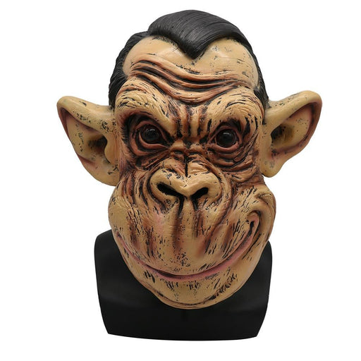 Scary Zombie Latex Mask With Hair Cosplay Helmet Halloween Costume Scary Mask Scary Masquerade Masks-Eraspooky Official Store-EpicWorldStore.com