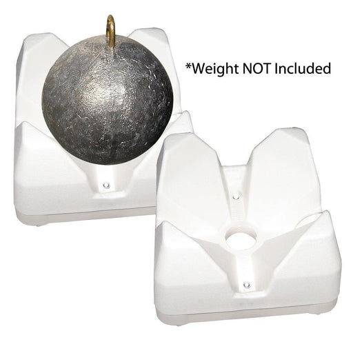Scotty 3022-Wh Weight Mate - White 2 Pack-Marine Products-Scotty-EpicWorldStore.com