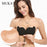 Seamless Invisible Bra Adhesive Silicone Backless Bralette Strapless Push Up Bra Stylish Lingerie-Bras-MUKATU Store-T khaki-A-EpicWorldStore.com